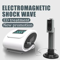 Wholesale shock can resale online - hot sale portable shock wave machine with digtial hand piece can use for ED dysfunction physical shockwave for erectile dysfunction