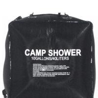 outdoor pvc solar showers venda por atacado-40L 10 Gallon Camping Caminhadas Acampamento Solar Saco de Chuveiro Acampamento Ao Ar Livre Saco de Água Do Chuveiro Acampamento Ao Ar Livre Viajar Água De Banho