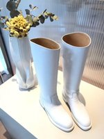 Wholesale metal tassel boots for sale - Group buy Designer Metal Shark lock Women Knee High Boots Polish Leather Long Booties Strap Wedges Shoes Ladies Knight Layer Boots yg19090503
