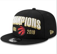 ingrosso nuovi cappelli di diamanti-2019 nuovo Hot più nuovo 2019 All'ingrosso Champions papà gorras Toronto diamante osso ultimo re cappelli di snapback cappelli Casquette per uomini donne