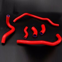 Wholesale radiator hoses online - Motorcycle silicone radiator hose kit for YAMAHA VMAX VMX12 V Max