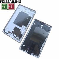 galaksi sekmesi s 8.4 vaka toptan satış-Samsung Galaxy Tab S 8.4 için T700 T705 T705 Dokunmatik S Geri Pil Konut Kapak Kasa Pil Kapı Kapağı Değiştirme
