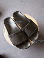 sandálias de praia unisex venda por atacado-Barato melhor quqlity moda sandálias de slides chinelos para mulheres dos homens designer de luxo unisex praia chinelos chinelo com orinigal caixa size36-46