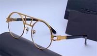 rodada de óculos populares venda por atacado-Novo designer de moda rodada retro óculos ópticos 9080 simples popular estilo dos homens top qualidade best selling eyewear