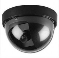 Wholesale Dummy Fake Camera Simulated Security video Surveillance Fake Dummy Ir Led Dome Camera Signal Generator Santa Security Supplies DW1506