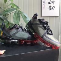 kutu b toptan satış-nike air vapormax x CPFM Kutu ile 2019 CACTUS BİTKİ FLEA PAZAR erkek koşu ayakkabı en kaliteli gülümseme yüz marka siyah erkek eğitmenler moda spor sneakers
