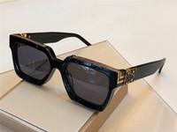 красочные очки оптовых-Новые очки моды миллионер 96006 квадратного цвета рамка верхнего качества лето красочные открытый старинные декоративные очков