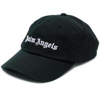 attraktive schwarze männer großhandel-19ss Palm Angels Caps Frauen Männer Stickerei Hip Hop Palm Angels Baseball Caps