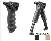 Wholesale t pod foregrip bipod for sale - Group buy T POD G2 Rotating Tactical Foregrip Bipod Black DE