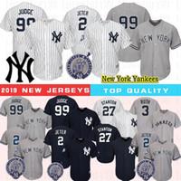 ingrosso jersey caldo-99 Aaron Giudice maglie Derek Jeter 2 27 Stanton 3 Babe Ruth 150 pullover di baseball Gary 24 Sanchez bassa fredda calda di alta qualità