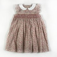 Wholesale fast shipping tutus for sale - Group buy Hot Girls Lovely Baby Girls Smoking New Dress Casual Party Dresses Bohemian Princess For Years Kids Dress Fast Shipping