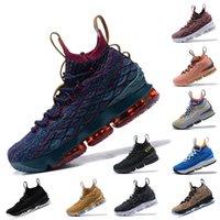 1701bf81e99 Fashion Purple Rain Wine mens LBJ 15 Basketball Shoes BHM Vlot Grey yellow EQUALITY  Black White 15s EP designer trainers luxury shoes 7-12