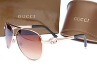 óculos de sol de luxo mens venda por atacado-Gafas Óculos De Sol Para Homens Mulheres De Luxo Mens Óculos De Sol Da Moda Sunglases Retro Óculos De Sol Das Senhoras Óculos De Sol Redondos Designer De Óculos De Sol