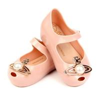 yeni ayakkabılar çocuklar sandaletler toptan satış-Yeni çocuk kız sandalet Moda inci çocuk ayakkabı Çocuk Sandalet kız Jöle Sandalet Plaj Sandalet shoes enfants çocuk ayakkabı A5054