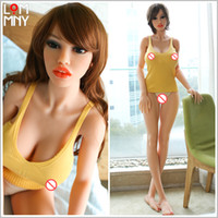 Wholesale free japanese toys for sale - LOMMNY CM Beauty Top Quality Real Silicone Sex Dolls Normal Breast Vagina Anal Oral Sexy Sex Toys Love Doll