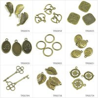 Leaf Charm//Pendant Tibetan Steampunk Antique Bronze 24mm  20 Charms Accessory