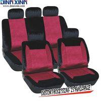 lila silberne bettwäsche gesetzt großhandel-DinnXinn 111122F9 Buick 9-teiliger Autositzbezug aus Samt für Hunde im Bettenhandel aus China