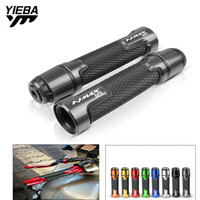 Wholesale motorcycle handlebar yamaha for sale - Group buy For Yamaha NMAX NMAX125 N MAX MM Aluminum plastic Motorcycle Handlebar Hand bar Grip Handle Cap End Moto Racing Grips