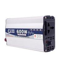 ingrosso trasformatore di protezione-600W 1000W onda sinusoidale pura adattatore di uso della casa LED Car pratico display Surge Protection Transformer Power Inverter 12V 24V a 220V