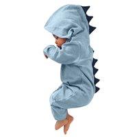 ensembles de vêtements pour bébés nouveau-nés achat en gros de-Nouveau né bébé garçon fille dinosaure barboteuse barboteuse jumpsuit tenues vêtements enfant garçon vêtements ensemble Casual filles pyjamas