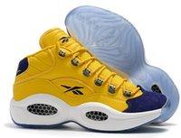 lässig athletische stiefel großhandel-Heiße Verkaufsentwurfsschuhe Allen Iverson Frage mittleres Q1 beiläufige Schuhe Antwort 1s Zoom Mens Stiefel Athletic Schuhe Luxus Elite Sport Sneakers