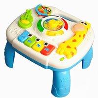 ingrosso tabella dei giocattoli del ragazzo-Baby Toys 13-24 Months giochi musicali da tavolo educativi M gioca per il bambino Brinquedos Para Bebe Oyuncak del neonato Giocattoli
