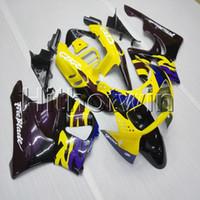 motorlu taşıtlar toptan satış-23 renkler + Vidalar sarı motosiklet kukuletası HONDA CBR900RR 1994 1995 1996 1997 CBR893RR ABS Plastik motor kaporta