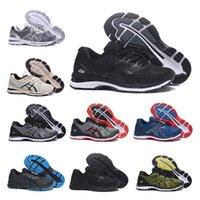 ingrosso nuovo gel nero-Asics 2020 New GEL-Nimbus 20 Scarpe da corsa da uomo Nero Grigio Triplo Nero Bianco Tessere Buffer Uomo Sneaker sportive Sneaker sportiva 40,5 - 45