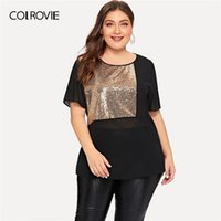 COLROVIE Plus Size Black Solid Open Front Sheer Lace kimono