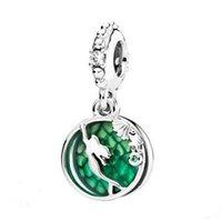 925 meerjungfrau charme großhandel-2019 original 925 Sterling Silber Schmuck Mermaid Anhänger Charm Perlen für europäische Pandora-Armbänder für Frauen zu machen