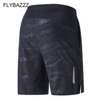 мужские шорты оптовых-Plus Size Running Sport Men's Quick Dry Shorts Elastic Pocket Training Fitness Soccer Jersey Sportswear Basketball Loose Shorts