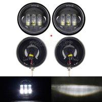 ingrosso lampade a benna-Proiettore da 4,5 pollici a LED che passa la luce ausiliaria con luce di posizione del faro ausiliaria con 4-1 / 2