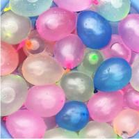 toy filling al por mayor-Nuevos globos de agua 111pcs / set Globos de agua mágicos Globos llenos de agua Inyección rápida Niños Juguetes de playa Verano Niños al aire libre Juguetes de playa