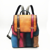 Wholesale wholes bags resale online - New designer handbags women Tote multi function bag Preppy Style concise Distressed Literary whole sale