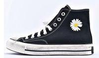 amantes do badminton venda por atacado-PEACEMINUSONE G-Dragon colabora bordado Chuck 70 Daisy alta superior skate sapatos da moda sapatos de homens e de mulheres para os amantes