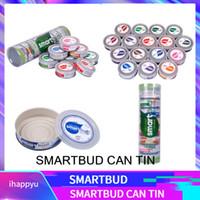 kräutergläser großhandel-SmartBud 15 Flavours SmartBud maschinenversiegelte Blechdosen 3,5 Gramm Smart Bud Dose Behälter trocken Kräuterblume Verpackung mit 15 Flavour Stickers Lables