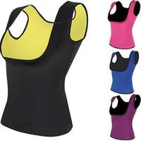 vücut heykeltıraş giysileri toptan satış-2019 Sıcak Annelik Giyim Şekillendirme T Gömlek S-5XL kadınlar kilo Vücut şekillendirici yelek Zayıflama Karın Kemerler C6051