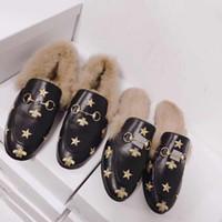 ingrosso stampare le donne piatta scarpe-Stampa Mocassini per le donne Tacco piatto Pelle di pecora Fashion Ladies Dress Shoes Primavera Estate Barche