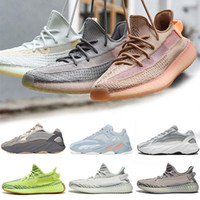 huge selection of 4d6c7 7e1ed Adidas Yeezy boost 350 V2 Clay True Form Hyperspace Real boost 350 Clay V2  True Form Hyperspace Hommes Femmes Chaussures de course Static Butter  Sésame ...