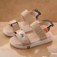 Wholesale sandal shoes for kids boys resale online - Summer fashion baby sandals boys and girls beach shoes kids sneakers breathable non slip cool infant soft shoes for year old