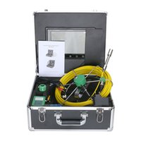 industrielle rohr inspektion kamera großhandel-MAOTEWANG 20M 10 Zoll 17mm Industrierohr Kanalinspektionsvideokamera IP68 Wasserdichte Kanalinspektionskamera