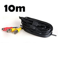 ingrosso lungo cavo di cavo-Super Long professionale BNC Cavo Power Video HD Cavo DC CCTV Security Camera DVR Wire Cable Nero