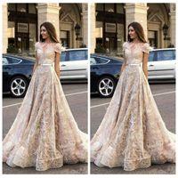 Wholesale adorn wedding dress resale online - Off Shoulder Short Sleeves A Line Wedding Dresses Feather Adorned Bridal Gowns Formal Vestidos De Marriage Custom Luxurious