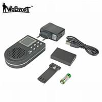 control remoto de mp3 de aves al por mayor-Tactical Hunting Decoy Bird Caller NO Control remoto Electrónica LCD CP360 Reproductor de sonido MP3 1800MAH Equipo de caza digital