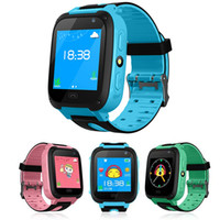 melhores rastreadores para crianças venda por atacado-Relógio inteligente para crianças q9 crianças anti-lost inteligente relógios smartwatch lbs rastreador relógios sos chamada para android ios melhor presente para crianças
