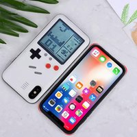 Wholesale Unisex Fashion With Game Machine Phone Back Cover Case V Phone Cover Protective White Black Cover