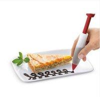 наборы для выпечки оптовых-2 шт./компл. торт гладкой пластиковые крем помадной скребок выпечки кондитерские изделия гладкой шпатели торт украшения инструменты формы для выпечки ToolHoomall тесто скребок