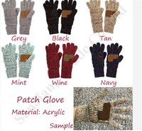 Wholesale free size gloves for sale - Group buy Brand Touch Screen Gloves Designer Women Trendy Telefingers Gloves Luxury Outdoor Mittens Confetti Patch Glove Unisex Handwear C91810