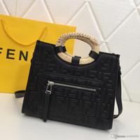 ingrosso numeri marroni-Fashion high-end new ladies shopping handbag squisita Retro borsa in pelle da donna fashion designer bag rosso nero nero numero: 2218.