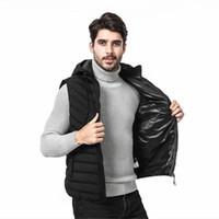 klasik tasarımcı kıyafetleri toptan satış-Hızlı Kargo Marka Kış Ceket Erkek Tasarımcı Markalı Mektupları Lüks Erkekler Yelek Giyim ile Yelek Klasik Erkek Aşağı Yelekler
